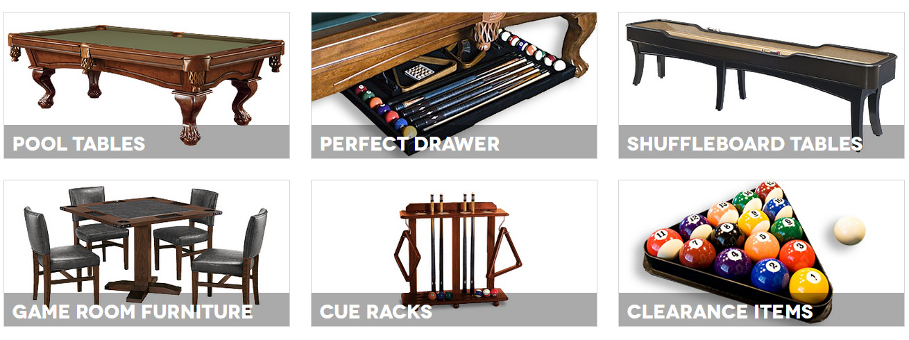 legacy billiards featured products